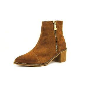 Report signature jackal tan suede ankle boots
